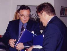 Ninko Kostovski & Alberto Gomez Maria